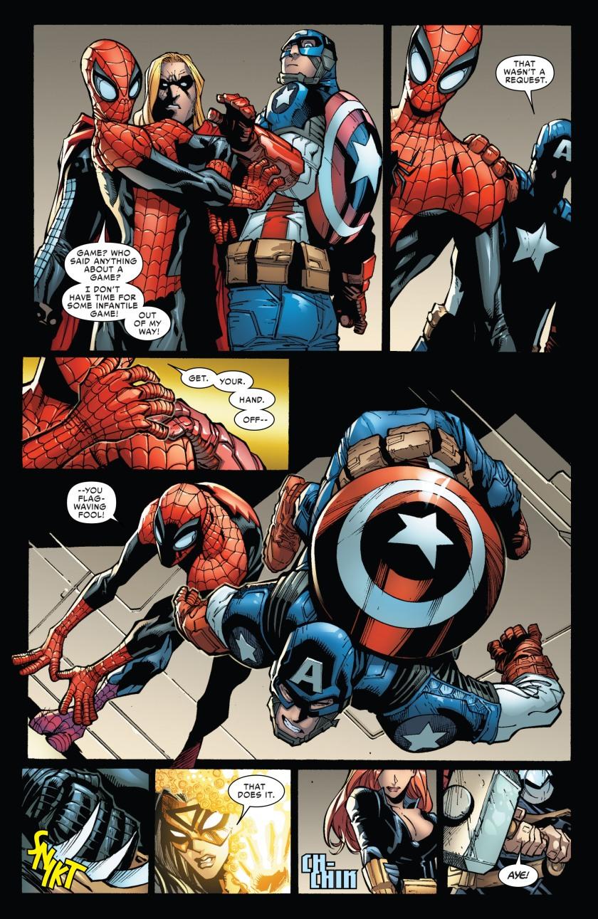 Spidey vs. Avengers