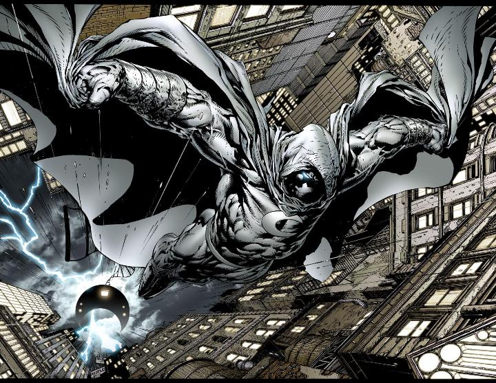 Vengeance in White – Moon Knight