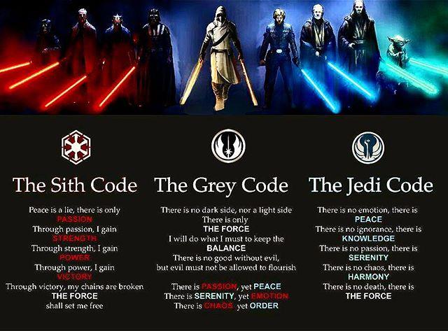 Jedi codes