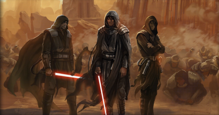 The_First_Dark_Sith_Lords_on_Korriban