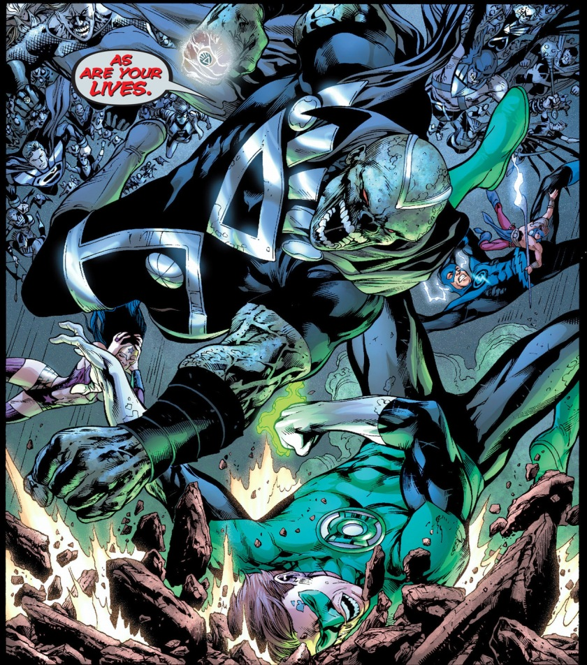 Black Lantern Martian Manhunter
