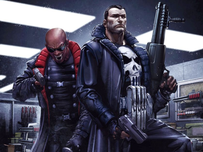 Blade and Punisher