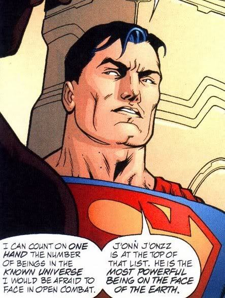 Supes Scared