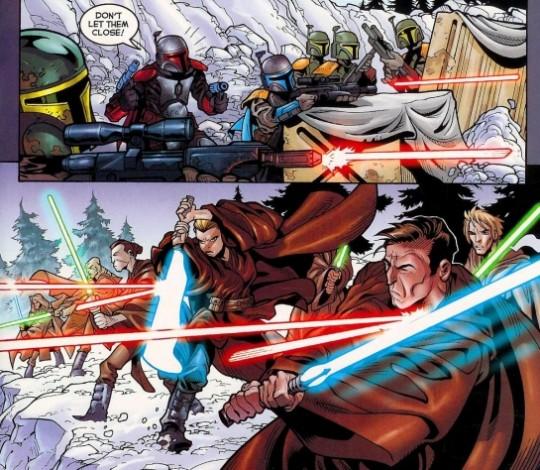 Galidraan-battle-Mandalorians-versus-Jedi