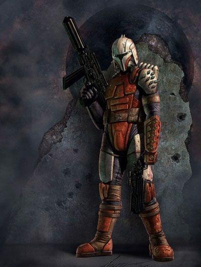 Mandalorian Crusader