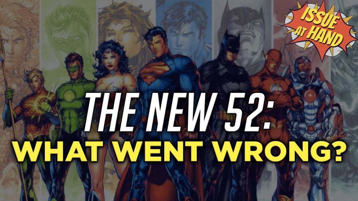 The New 52 – A Bad Footnote in DC Comics History