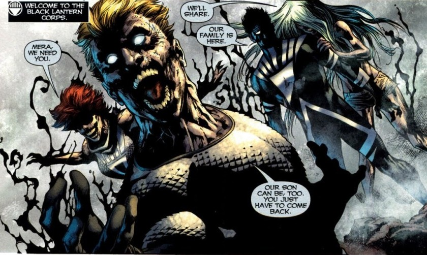 Black LAntern Aquaman