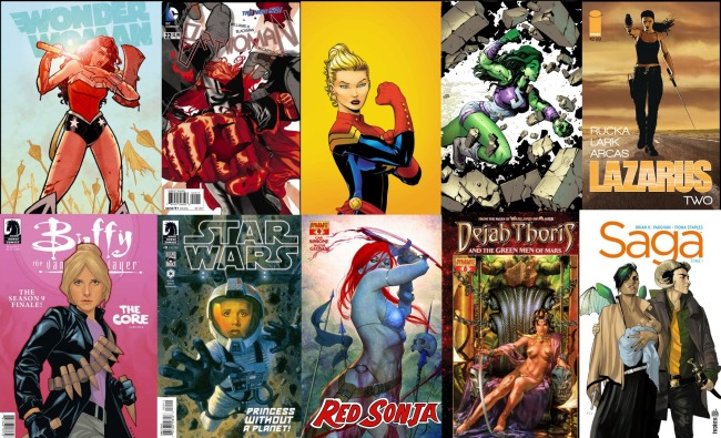 Gender Disparity In Comics – Why We Need More Female Characters
